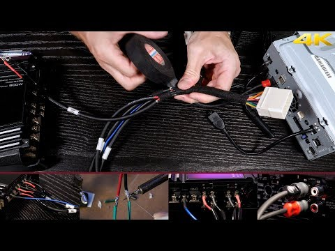 Wiring A 2 Or 4 Channel Amp To Your Stock Speaker Harness Without Cutting The Factory Wiring