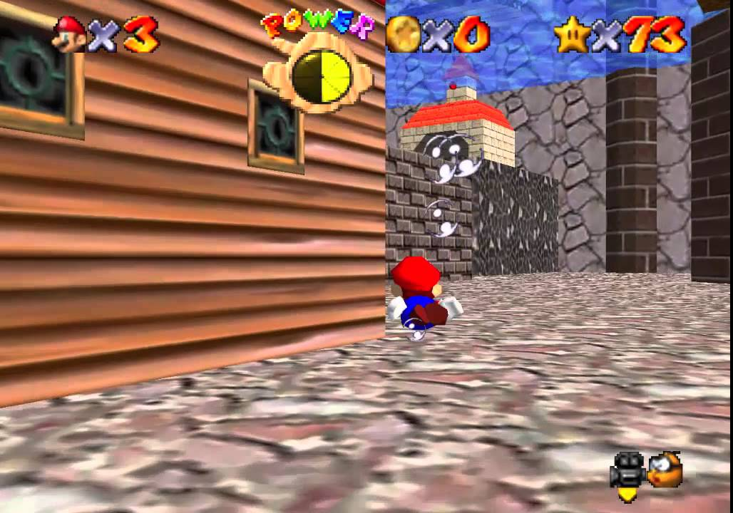 go to town for red coins n64
