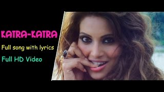 Katra-Katra Full Song Lyrics Video [HD] |Alone 2015 |Bipasha Basu |Karan Singh Grover