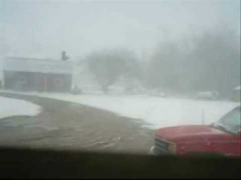 Extreme Weather Change for Bridgetown NS 03-20-2007