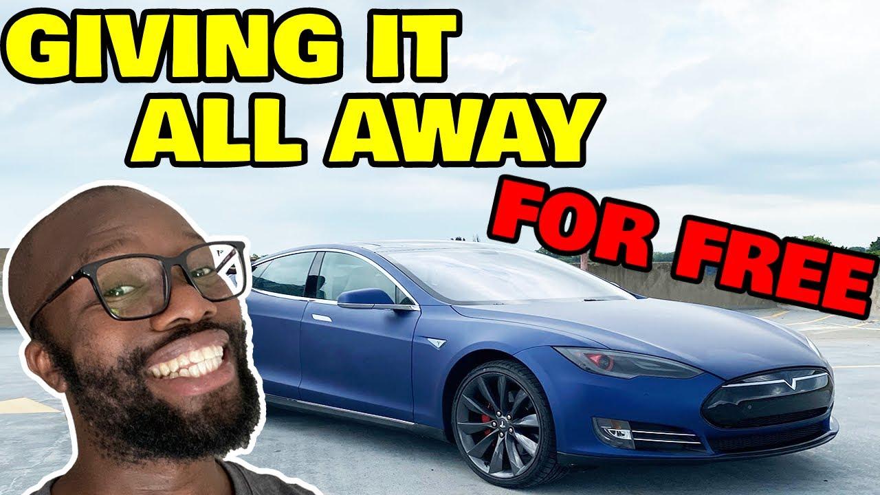 I'm Giving all my Tesla stuff away