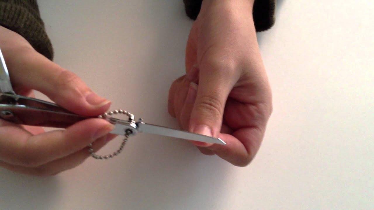 Cómo cortarse las uñas correctamente - YouTube