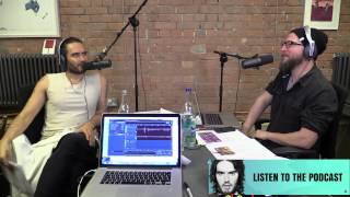 the russell brand podcast yoga studio crisis
