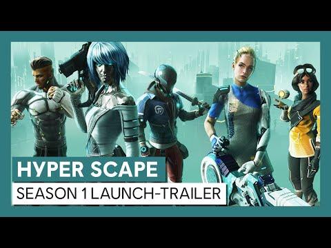 [AUT] Hyper Scape: Season 1 Launch-Trailer