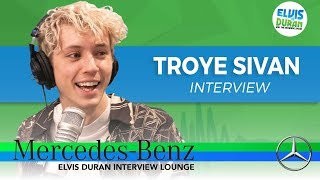 Troye Sivan on Writing With His Best Friends, and Learning From Mistakes | Elvis Duran Show