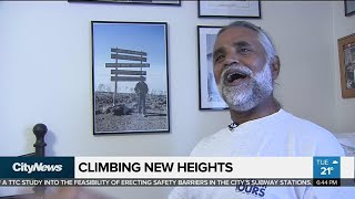 Man reaches new heights after retirement
