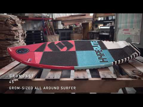The Hyperlite Gromcast Youth Wakesurf Board