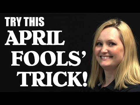 Try This April Fools' Trick! (Mystery Math)