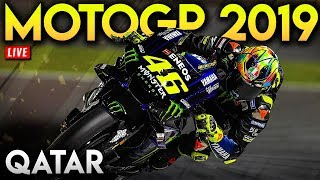 MotoGP Qatar 2019 Full Race (MotoGP 2019 Mod Gameplay Live Stream)