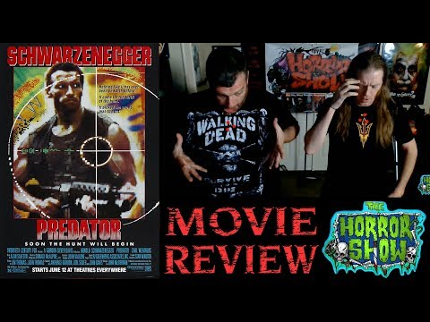 """Predator"" 1987 Sci-Fi Action Movie Review – The Horror Show"