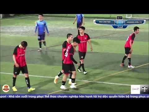 HIGHLIGHT Giao hữu bóng đá  HOÀNG DIỆU FC - RIO UNITED 21.01.2021 trên sân Gia Phú, Bình Tân, TP.HCM