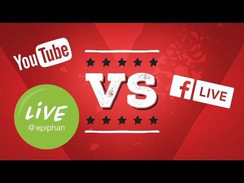 YouTube vs. Facebook Live!