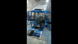 Изготовление кабины УК на трактор МТЗ из профильной трубы(не реставрация)