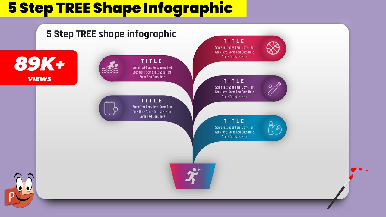 4eate 5 step tree shape infographicspowerpoint presentation create 5 step tree shape infographicspowerpoint presentationgraphic designfree template toneelgroepblik Gallery