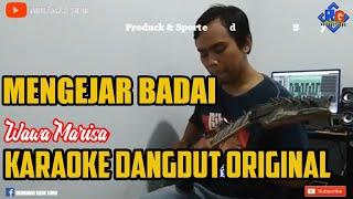Karaoke dangdut Mengejar Badai wawa marisa