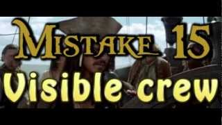 15 Movie mistakes - Pirates of the Caribbean: The Curse of the Black Pearl (E3)