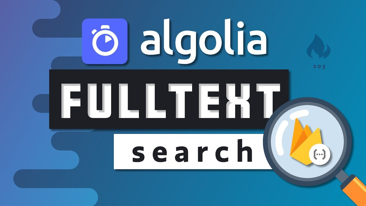 Fullstack Autocomplete Search with Algolia