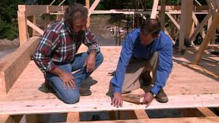 How To: Framing And Decking  - Garage And Boat Storage -  Bob Vila Eps.1605