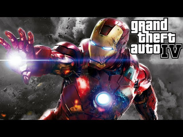 Iron Man Destroys GTA 4 Travel Video