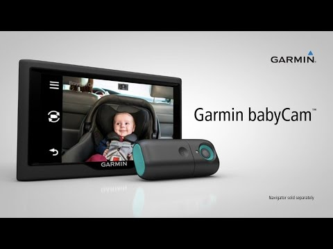 Garmin babyCam: Monitor Your Child on Your GPS Navigation Display