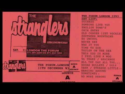 The Stranglers MKII The Forum London 11 December 1993