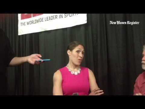 ESPN analyst and former UConn star Rebecca Lobo on current Husky Breanna Stewart