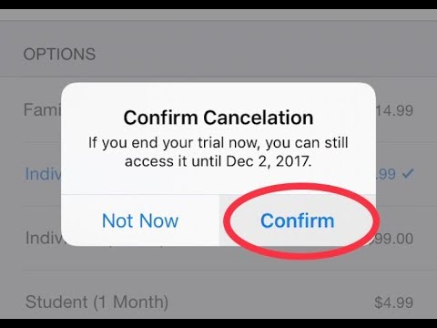 How to cancel a subscription on iPhone/iPad