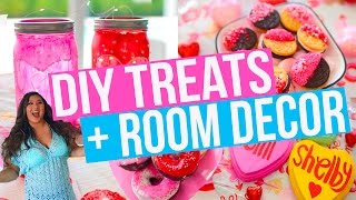 DIY Room Decor, Treats + Outfit Ideas For Valentine's Day!!