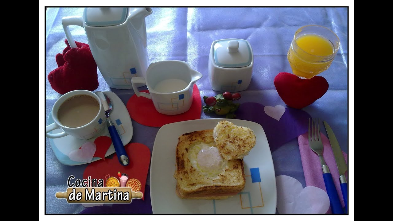 Desayuno rom ntico recetas para san valent n cocina de - Preparar desayuno romantico ...