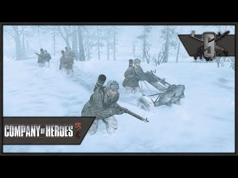 Freezing Guards, Burning Tanks- Company of Heroes 2 - Theater of War: Barbarossa Singleplayer #1