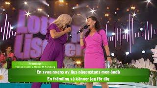 Allsång: Främling - Lotta på Liseberg (TV4)