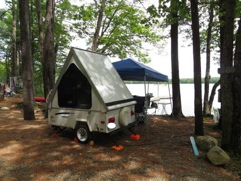 Image result for aliner alite 400 motorcycle camper