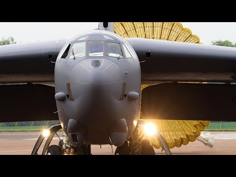 US deploys LETHAL B-52 STRATOFORTRESS aircraft to support bomber assurance & deterrence operations.