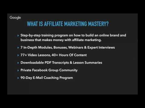 Affiliate Marketing Mastery Login