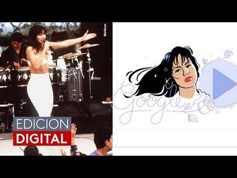 Selena, más viva que nunca: El emotivo homenaje de Google para la 'Reina del Tex-Mex'