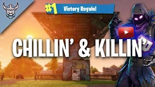 CHILLIN' AND KILLIN' - Fortnite Battle Royale - 4K SUBS = V-Bucks GIVEAWAY