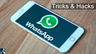15+ Best Whatsapp Tricks And Hacks - 2018