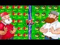 Plants vs Zombies Mod: Gatling Pea PvZ 2 PC vs Gatling Pea PvZ-Xmas