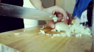 Нарезка лука / Cutting the onion