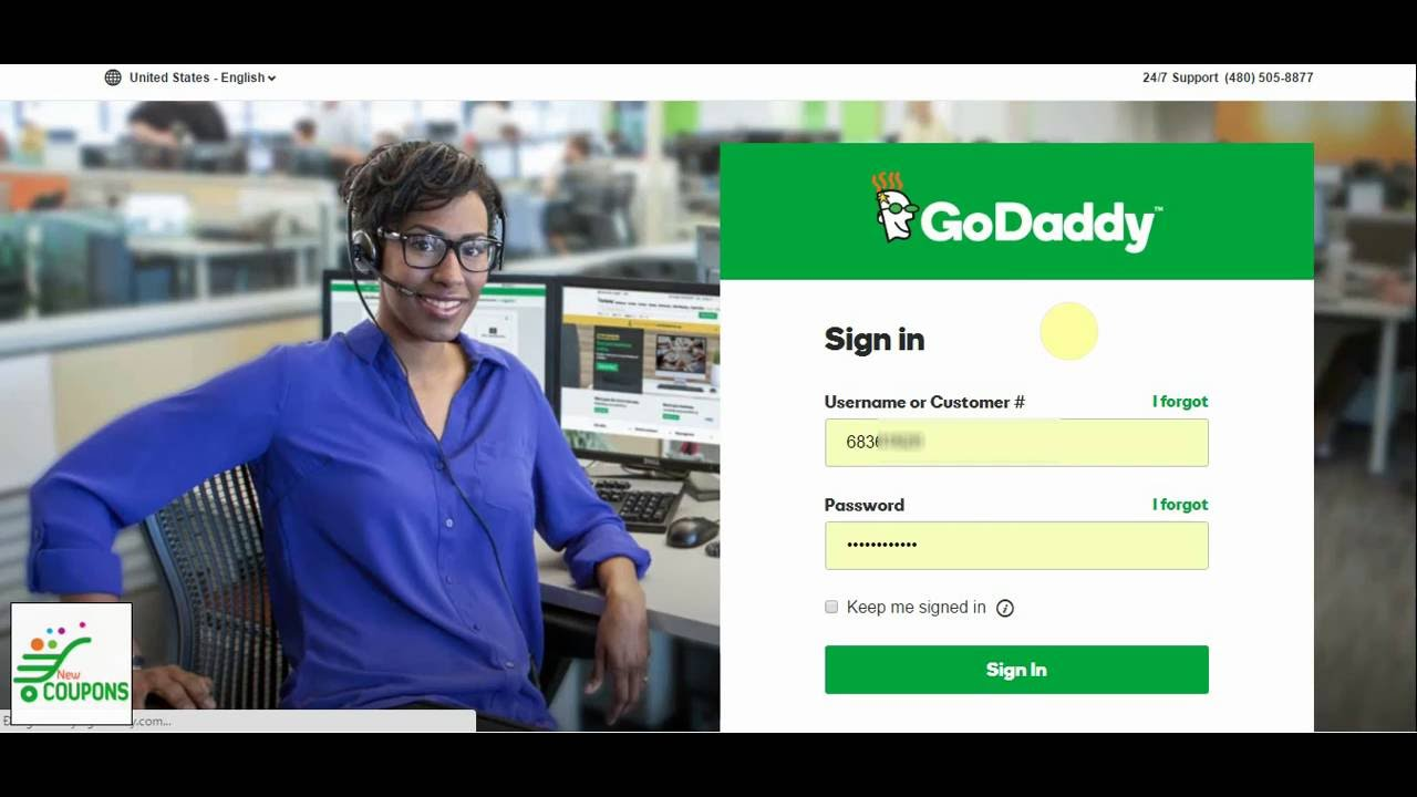 How to add subdomain on GoDaddy domain control - YouTube