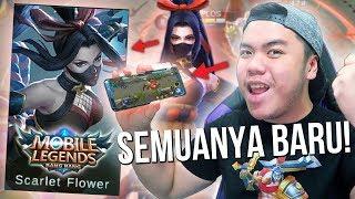 KACAU! HERO BARU HANABI + HP BARU + SEMANGAT BARU = ??? - Mobile Legends Indonesia #66