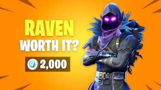 Is RAVEN Skin Worth it? Fortnite Battle Royale Daily Items Update
