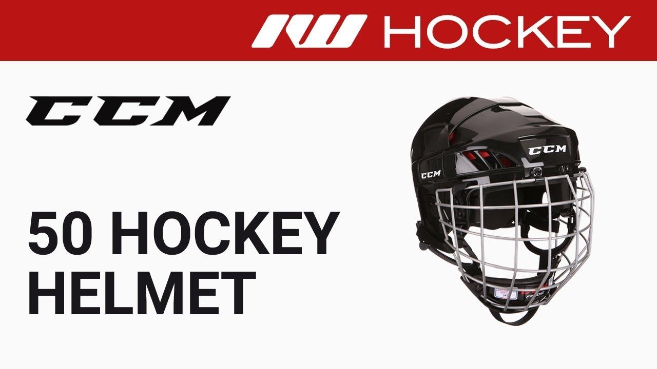 Download CCM 50 Hockey Helmet Review