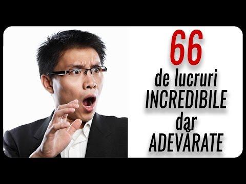 66 de informații SENZAȚIONALE dar COMPLET INUTILE