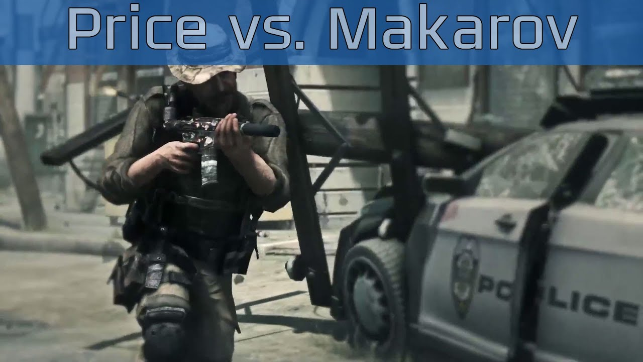 Call Of Duty Ghosts Price Vs Makarov Trailer HD 1080P