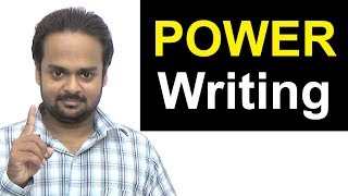 POWER Writing - Write ANYTHING in English Easily (Essays, Emails, Letters Etc.)