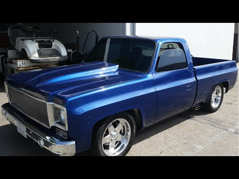 """Custom 1977 Chevy C-10! """"CP Customs and Fabrication"""" Shop Tour and Project Look!"""