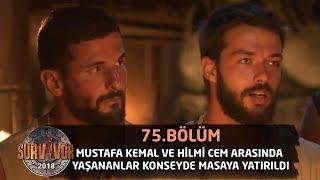 Mustafa Kemal ve Hilmi Cem arasında yaşananlar konseyde masaya yatırıldı | 75. Bölüm | Survivor