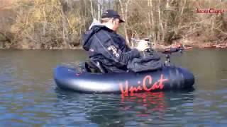 Nice perch! Barschangeln Belly Boat Perch Fishing