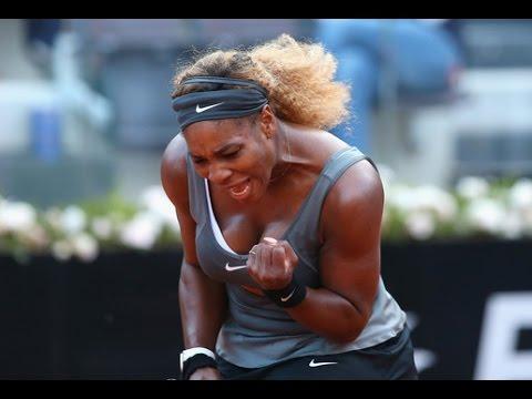 Serena Williams VS Ana Ivanovic Highlight Rome 2014 SF